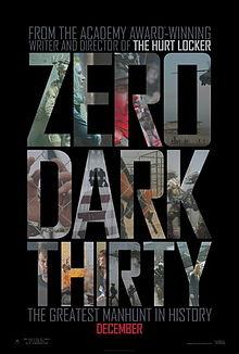 Dalton's Cinema Spot- Zero Dark Thirty