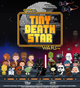 Star Wars: Tiny Death Star is a new game produced by Disney Games where you work with the Sith Lord, Darth Vader, to build the Death Star.