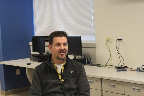 The new CAD teacher, Shane Stalter