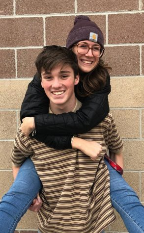 Kendall Weideman '19 and Aidan Jones '19 have been dating since their freshman year.
