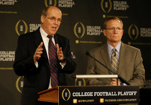 How the College Football Bracket Would Shape Up this Season