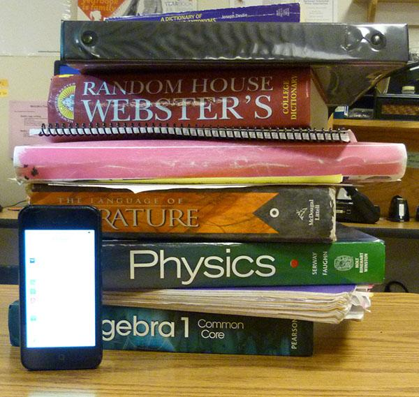 Student's work and studying are starting to pile up as the school year comes to a close.