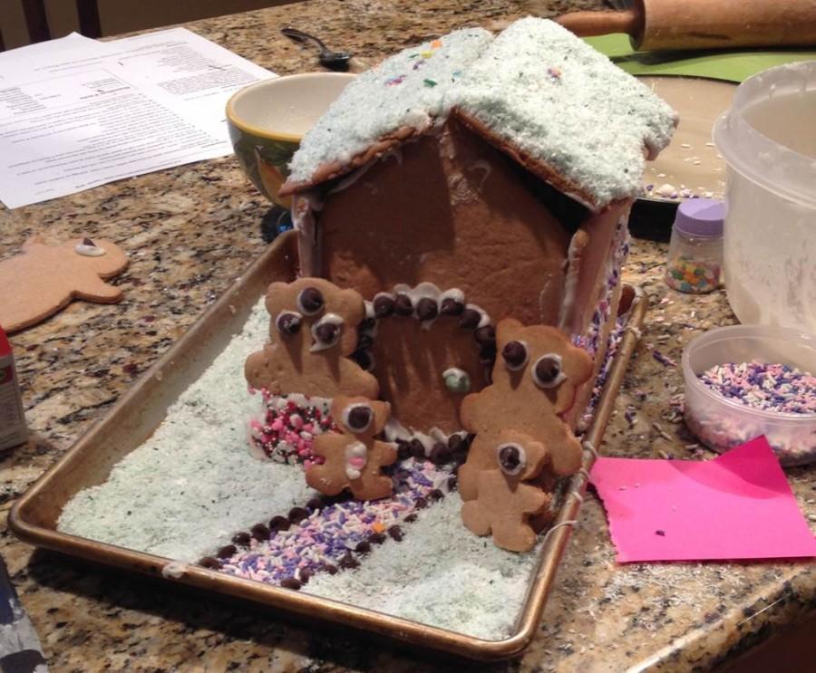 A fun cookie idea: ginger bread house