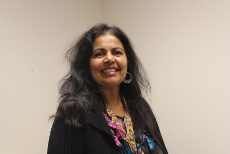 The new administrator and new Talented and Gifted (TAG) advisor, Rupali Hoffman