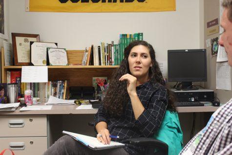 The new Spanish teacher, Emily Mozingo
