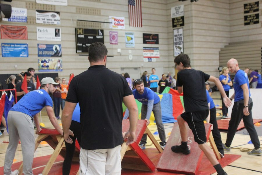 Mohi's very own ninja warriors filled the gym to conquer obstacle courses.
