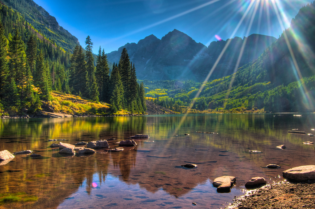 Maroon+Bells+are+two+mountains+near+Aspen+that+are+perfect+for+a+summer+hike.+Photo+by+Dhaval+Shreyas