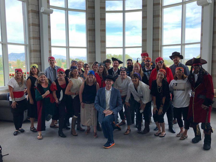 Pirate teachers surprise principal